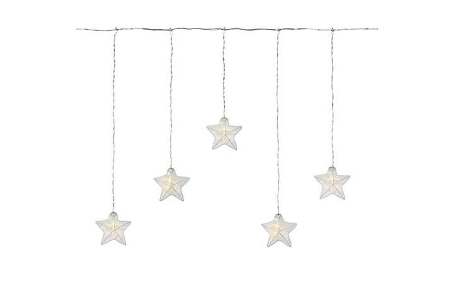 Dekorasjonsbelysning Stjerne Isabella LED Hvit