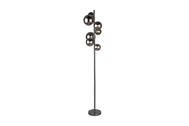 Golvlampe Villa - Svart Krom - Belysning - Innendørsbelysning & Lamper - Gulvlampe