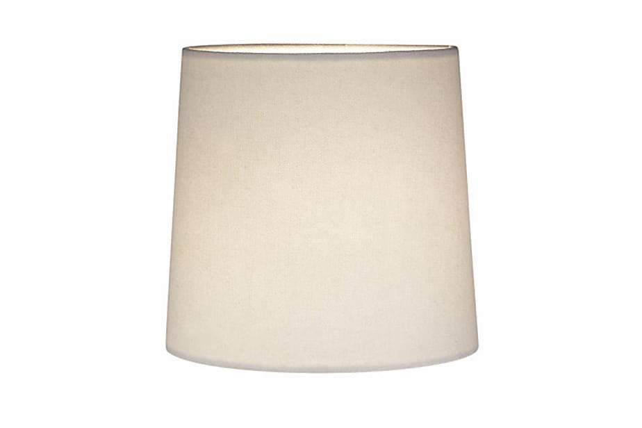 Lampeskjerm Cylinder Hvit