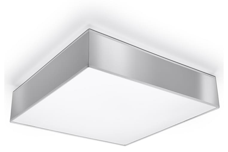 Plafond Horus 45X45 cm Grå - Sollux Lighting - Belysning - Innendørsbelysning & Lamper - Taklampe