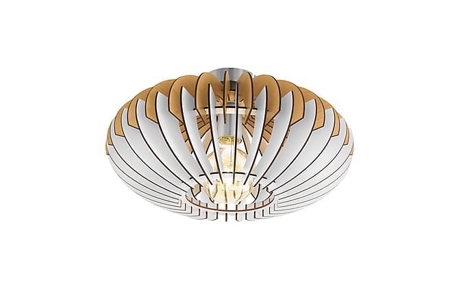 Plafond Sotos Hvit/Nikkel - Eglo - Belysning - Innendørsbelysning & Lamper - Plafondlampe