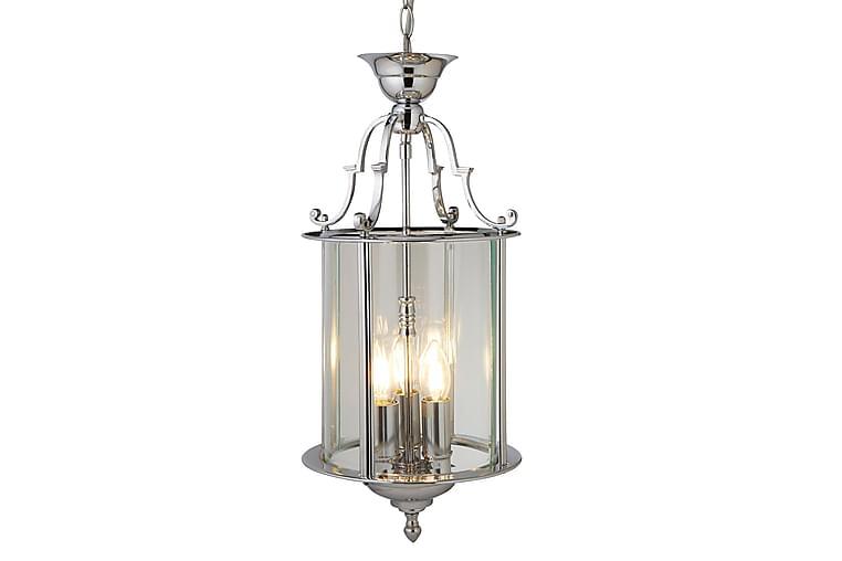Bevel Lantern 3L LED 25 cm Krom/Glass - Searchlight - Belysning - Innendørsbelysning & Lamper - Taklampe