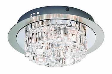 Taklampe Kärradal 4L Stål/Krom