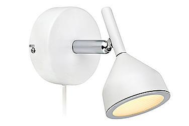 Vegglampe Bell Hvit