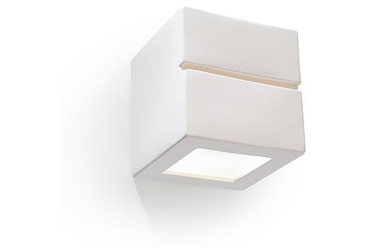 Vegglampe Leo Line Hvit - Sollux Lighting - Belysning - Innendørsbelysning & Lamper - Vegglampe