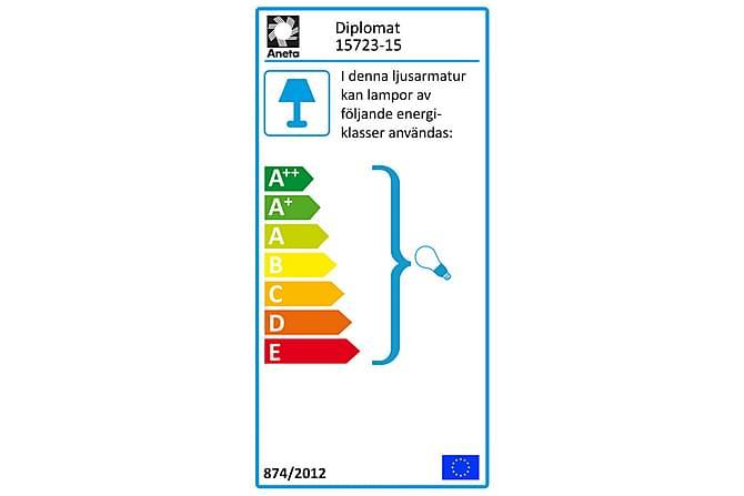 Vinduslampe Diplomat Svart - Aneta - Belysning - Innendørsbelysning & Lamper - Vinduslampe