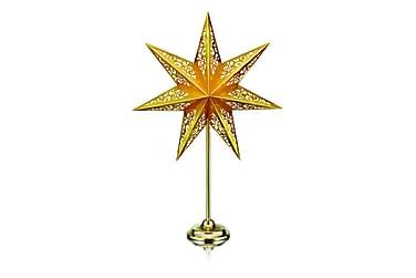 Bordstjerne Vallby 66 cm Gull