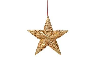 Dekorasjon Stjerne Tora LED Halm