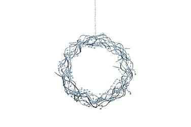 Krans Libra LED 35 cm Sølv