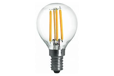 LED-pære Kule 3,6W E14 Dim Filament Klar