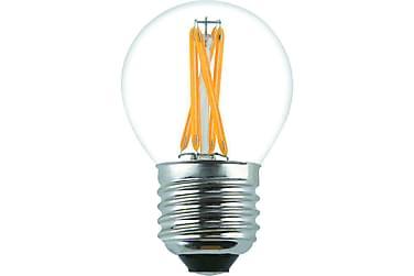 LED-pære Kule 3,6W E27 Dim Filament Klar