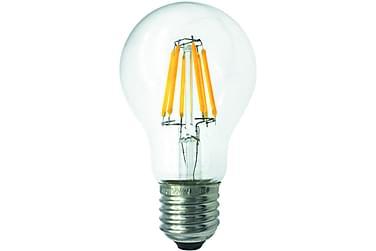LED-pære Normal 3,6W E27 2700K Filament Klar