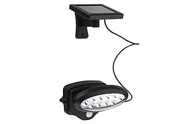 NSH Hortus Solcellelampe med Sensor 10 LED