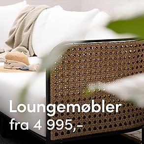 Loungemøbler - Håndplukkede favoritter!