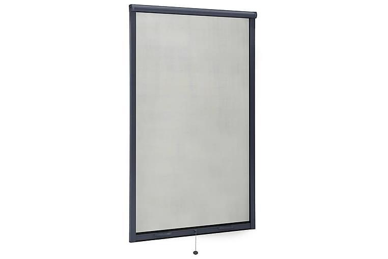 Nedrullbar insektskjerm for vinduer antrasitt 100x170 cm - Antrasittgrå - Hage - Hagedekorasjon & utemiljø - Myggnett
