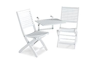 Balkongbord Dalarö 60x52x52 + 2 Sandö Klappstol