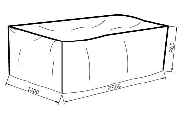 Møbelbeskyttelse Karibib 180x86x220