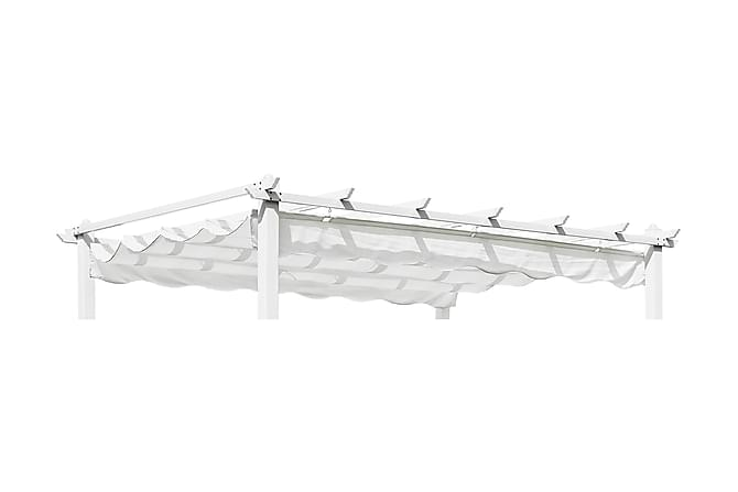 Pergolux-Tak 300x400 cm Beige - Beige - Hagemøbler - Solbeskyttelse - Paviljonger