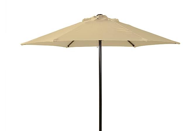 PARASOLL 200 NATUR - Stål og polyester - Hagemøbler - Solbeskyttelse - Parasoller