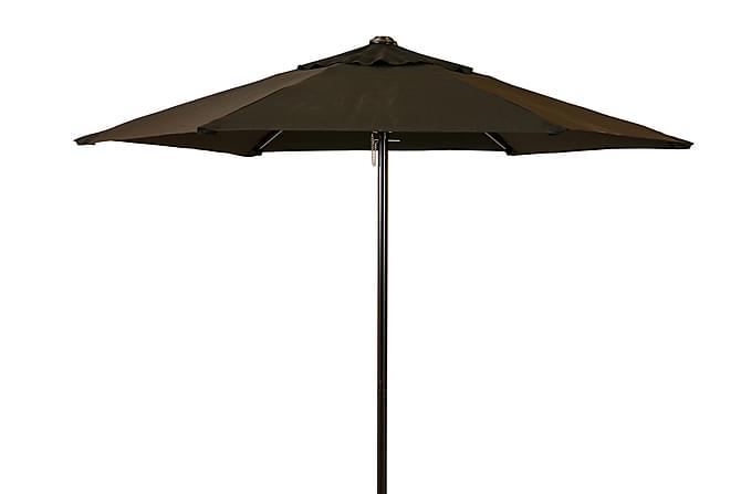 PARASOLL 200 SVART - Stål og polyester - Hagemøbler - Solbeskyttelse - Parasoller