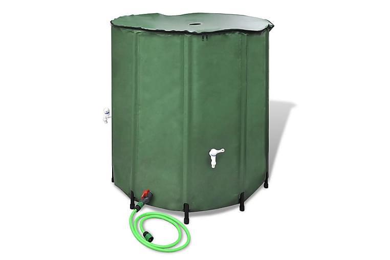 Sammenleggbar Regn Fat - Grønn - Hagemøbler - Solbeskyttelse - Parasoller