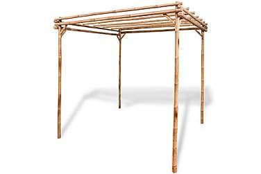 Pergola bambus 195x195x195 cm