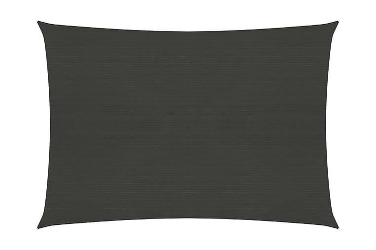 Solseil 160 g/m² antrasitt 2x3 m HDPE - Antrasittgrå - Hagemøbler - Solbeskyttelse - Solseil