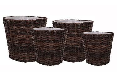 Krukke Rut Rotting Mørkbrun