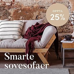 Smarte sovesofaer - Opptil 25%