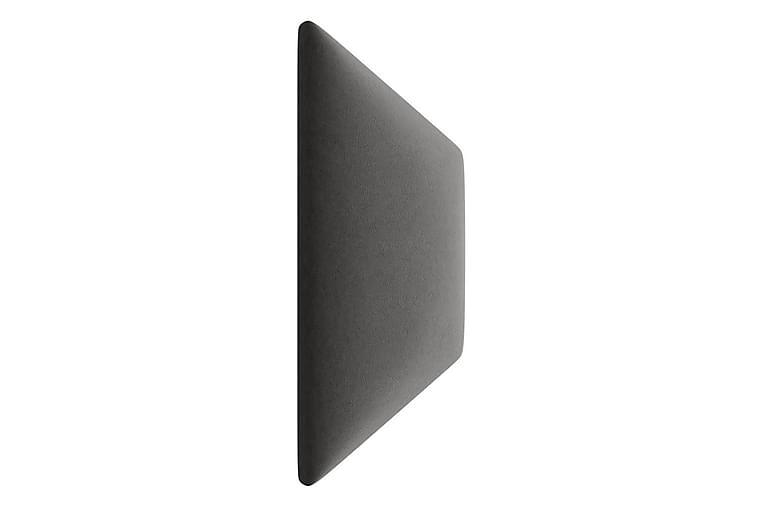 Veggpanel Sharnel Stoppad 18x36 cm - Grå - Innredning - Dekorasjon - Innredningsdetaljer