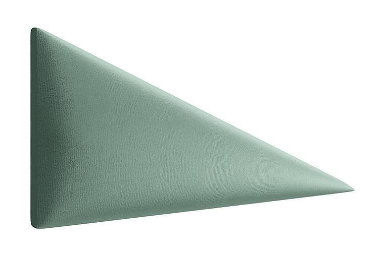 Veggpanel Sharnel Stoppad Trekantet - Grønn - Innredning - Dekorasjon - Innredningsdetaljer