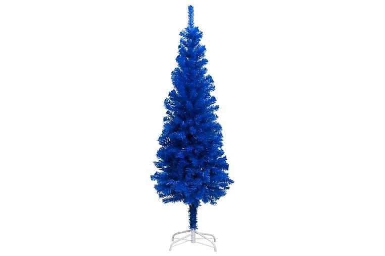 Kunstig juletre med stativ blå 150 cm PVC - Innredning - Dekorasjon - Julepynt & juledekorasjon