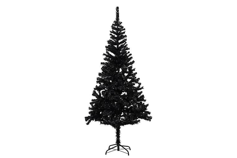 Kunstig juletre med stativ svart 180 cm PVC - Innredning - Dekorasjon - Julepynt & juledekorasjon