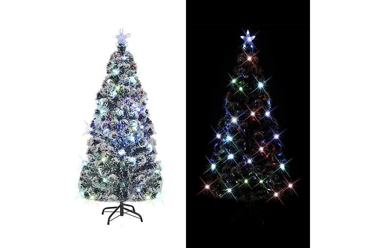Kunstig juletre med stativ/LED 150 cm 170 grener - Grønn - Innredning - Dekorasjon - Julepynt & juledekorasjon