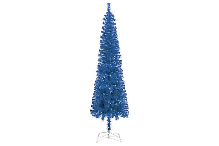 Slankt juletre blå 120 cm - Innredning - Dekorasjon - Julepynt & juledekorasjon