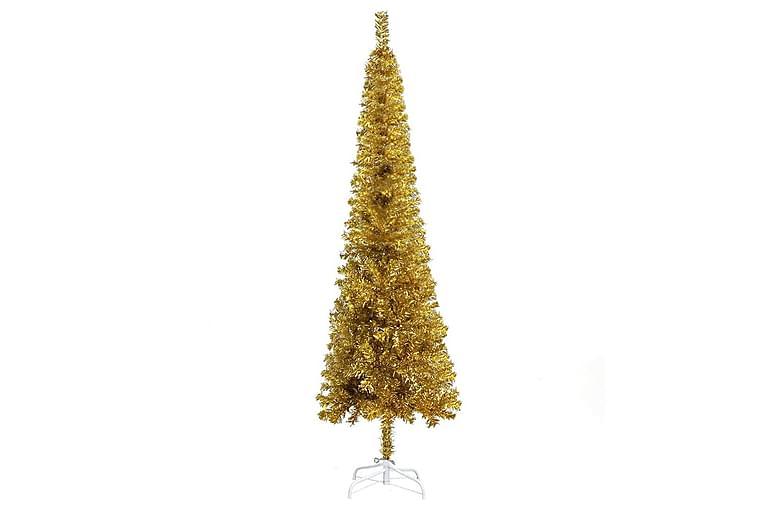 Slankt juletre gull 180 cm - Innredning - Dekorasjon - Julepynt & juledekorasjon