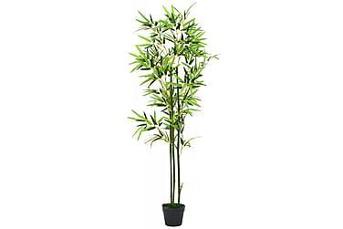 Kunstig bambus med potte 150 cm grønn