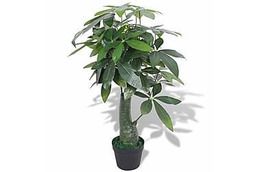 Kunstig pachira med potte 85 cm grønn