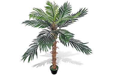 Kunstig palmetre med potte 140 cm