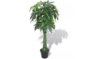 Kunstig pengetre med potte 145 cm grønn