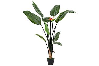 Kunstig Strelitzia Reginae plante paradisfuglblomst 155 cm