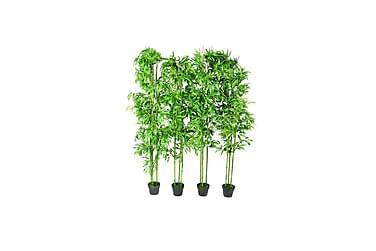 Sett med kunstige planter 4 stk190 cm