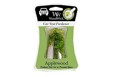 Duftlys Car Vent Applewood Rød