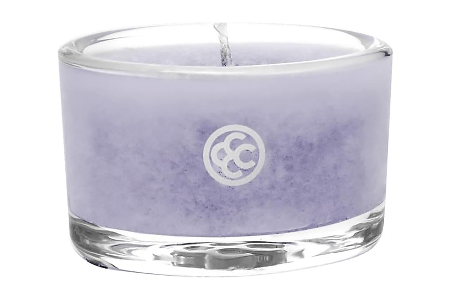 Duftlys Glass Tealight French lavender
