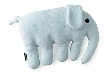 Pute Elefantti 40x30 cm Lysblå