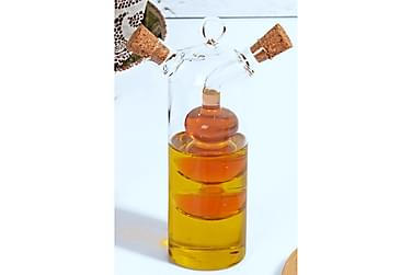 Olje- og eddikflaske Kosova 5 cm Glass