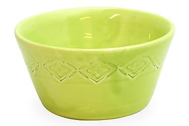 Olivenskål Medium Limegrønn