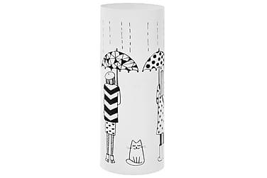 Paraplystativ Women stål hvit