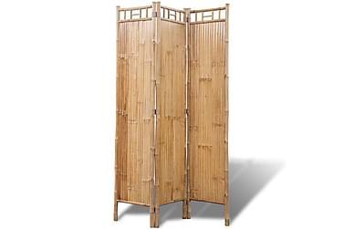 Romdeler 3-panel bambus