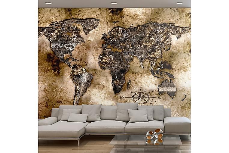 Fototapet Old World Map 100x70 - Finnes i flere størrelser - Innredning - Tapeter - Fototapeter